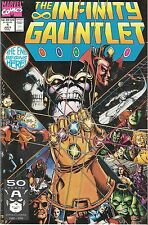 Marvel Infinity Gauntlet Issues # 1-4 only, THANOS!,NM with Perez and Starlin...