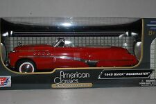 1:18 Motormax 1949 Buick Roadmaster red convertible