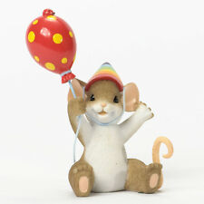 Charming Tails Today We Celebrate You Figure NEW Enesco 4035263 Mouse Birthday