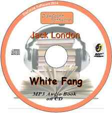 White Fang - Jack London MP3 Audio Book 25 episodes/chapters CD