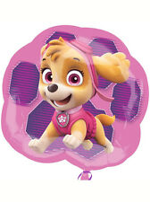 """Paw Patrol Pink Birthday Party Decoration 25"""" SuperShape Foil Balloon"""