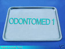 "Mayo Tray 10.75"" X 14.50"" X .75"" Surgical Instruments Non Perforated Dental"