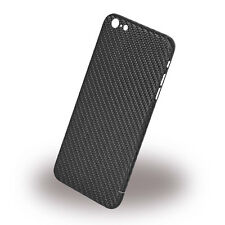 Nevox Hardcover Shell Faceplate Carbon Series Cover Apple iPhone 6s PLUS Schwarz