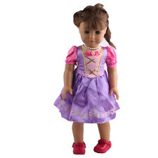 2017 fashion clothes dress for 18inch American girl doll party b418