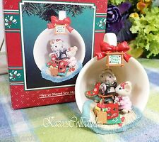 Enesco Cozy Cozy Cup We've Shared sew Much 1995 ornament 9th in series Mice