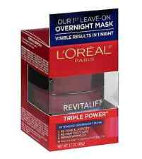 LOreal Paris Revitalift Triple Power Intensive Overnight Mask 1.7 oz (6 pack)