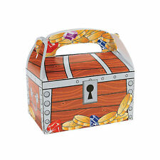 24 pc Treasure Chest Treat Favor Boxes Birthday Party PIRATE THEME