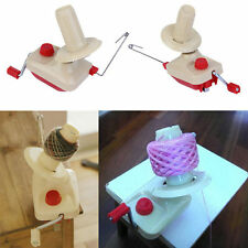 Portable Hand-Operated Yarn Winder Wool String Thread Skein Machine Tool I5