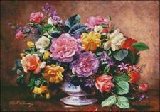 Needlework Crafts Embroidery DIY Counted Cross Stitch Kits A Summer Arrangement