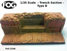 1/35 Scale  - WW1 Trench Type B - 200mm long, 90mm high and 70mm deep