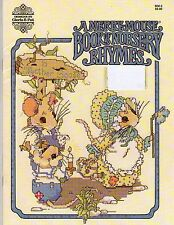 Designs by Gloria & Pat MERRY MOUSE BOOK OF NURSERY RHYMES Counted Cross Stitch