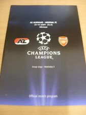 20/10/2009 AZ Alkmaar v Arsenal [Champions League] . (Any noticable faults with