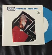 "Pulp Sorted For E's & Wiz/mis-shapes 7"" Rare Blue Vinyl"
