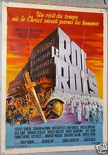 AFFICHE ANCIENNE FILM 1961 LE ROI DES ROIS KING OF KINGS 120x160 cm