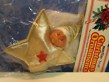 "CHRISTMAS STAR/NORFSTAR ORNAMENT - 3"" Dam Norfin Troll Doll - NEW IN BAG - Rare"