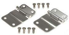 Smittybilt 7419 Tailgate Hinges Stainless Steel for 76-95 Jeep CJ7