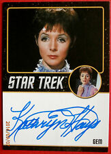 STAR TREK TOS 50th KATHRYN HAYS as Gem EXTREMELY LIMITED ( 200) Autograph Card