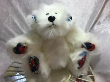 Handmade artist bear (buster) fully jointed with Spiderman paws