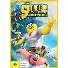 THE SPONGEBOB MOVIE:Sponge Out Of Water-Region 4-New AND Sealed
