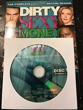 Dirty Sexy Money - Season 2, Disc 1 REPLACEMENT DISC (not full season)