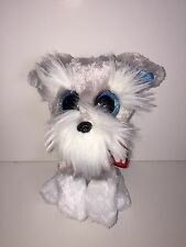 "TY WHISKERS SCHNAUZER 6"" BEANIE BOOS-NEW, MINT TAG *IN HAND NOW-IMMEDIATE SHIP*"