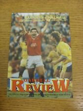 12/01/1991 Barnsley v Millwall  . Condition: We aspire to inspect all of our ite