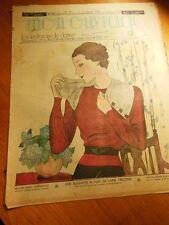 MON OUVRAGE  1936  n°311 brandebourg broderie chambre enfant pour le thé