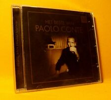 NEW CD Paolo Conte Het Beste 10TR 2005 Chanson Easy Jazzy Pop Belgian Only !!!