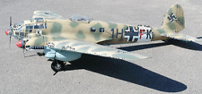 HEINKEL HE-111 scratch build R/c Plane Plans, 55 in. wing span ELECTRIC POWER