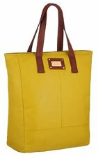 Womens Plain Faux Leather Tote Messenger Shoulder Handbag Ladies Purse Bag