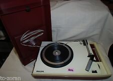 Philips 22gf113/03f; turntable; tourne-disques; vintage années 70er, rare (h056)