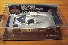 1/43 MICHAEL SCHUMACHER Nr 02 MERCEDES-BENZ C291 CAMEL 1991