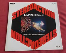 ESQUIVEL ORCHESTRA LP ORIG FR LATIN- ESQUE   STEREO ACTION  4