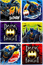 Batman Stickers - Glow in the Dark - Super Hero - Birthday Party Favours