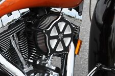 Harley 2015 Roadglide Performance Billet Air Cleaner Filter Kit Custom Black K&N