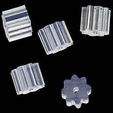 New Clear Rubber Bullet Clutch Earring Safety Backs (100PCS) EV