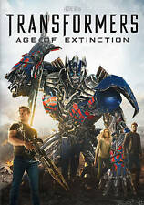 DVD Transformers: Age of Extinction Michael Bay Mark Wahlberg Action Adventure 4