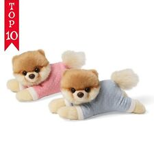 "Gund Itty Bitty Boo For Baby In Pink Pajamas 4"" BOO THE DOG"