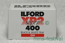 5 rolls ILFORD XP2 400 35mm 36exp Black and White Film C41 Process B&W