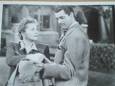 Joan Fontaine Hand Signed Autographed 8x10 photo