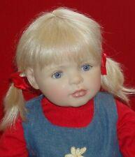 Künstlerpuppe 56 cm, Annika von Bettine Klemm, Götz Puppe