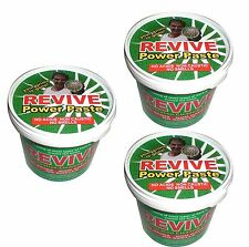 3 x Revive Power Paste : Cleaning Ovens Cookers Hobs BBQ