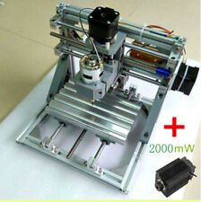 DIY 3 Axis Engraver Machine Milling Wood Carving Engraving + 2000mW laser head