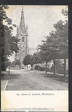 Lincolnshire Postcard - St Andrew's Church, Heckington  RT323