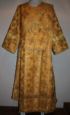 Deacon Byzantine Orthodox Vestment Greek Nonmetallic Brocade  Gold  Any Color