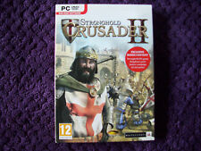 STRONGHOLD CRUSADER 2 WITH BONUS CONTENT PC DVD NEW