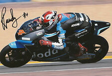Randy Krummenacher Hand Signed Octo IodaRacing Suter 12x8 Photo 2014 Moto2 1.