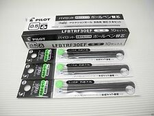 (9 Black Refills Pack) for Pilot FRIXION Ball 3 erasable 0.5mm Multi roller pen