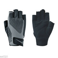 Nike Mens Core Lock 2.0 Sports Weight Lifting Training Gloves - Black & Silver