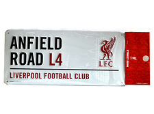 Official Liverpool FC   METAL STREET STADIUM  SIGN   FREE (UK) P+P